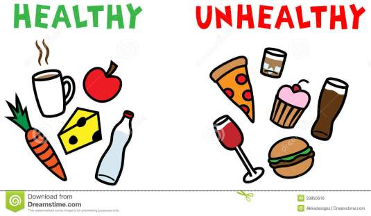 healthy-and-unhealthy-food