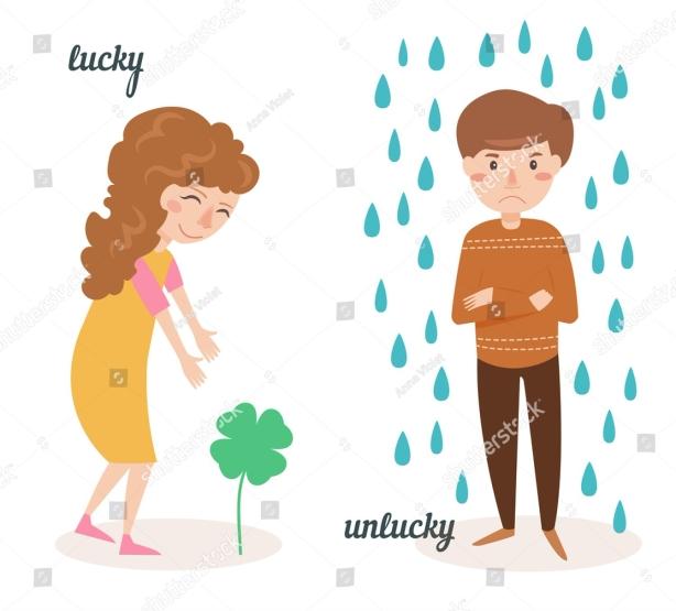 lucky and unlucky