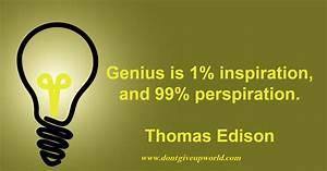 エジソンの言葉
