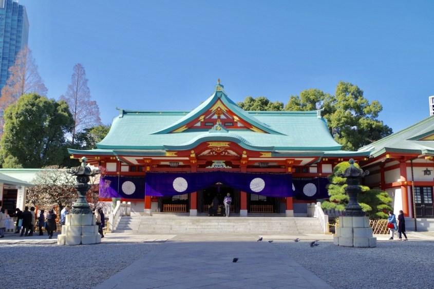 日枝神社ー1