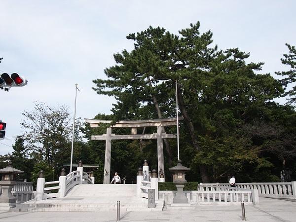 """レイラインにある""""寒川神社""""(神奈川県)"""