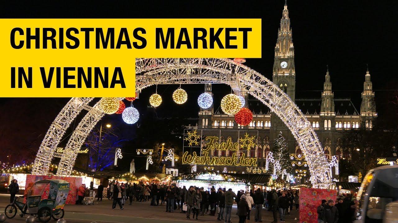 ウィーンのクリスマスマーケット(オーストリア)