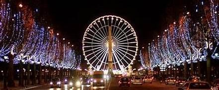 パリのクリスマス(フランス)