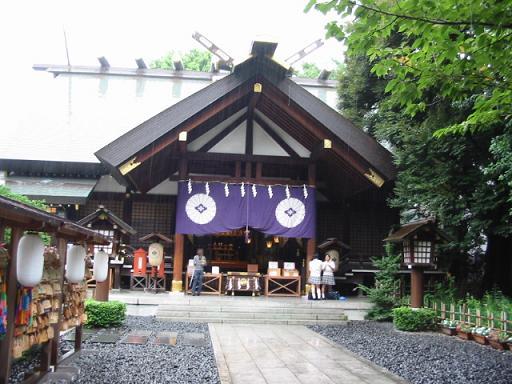 東京で参拝できる出雲大社の分祠と伊勢神宮の遥拝殿