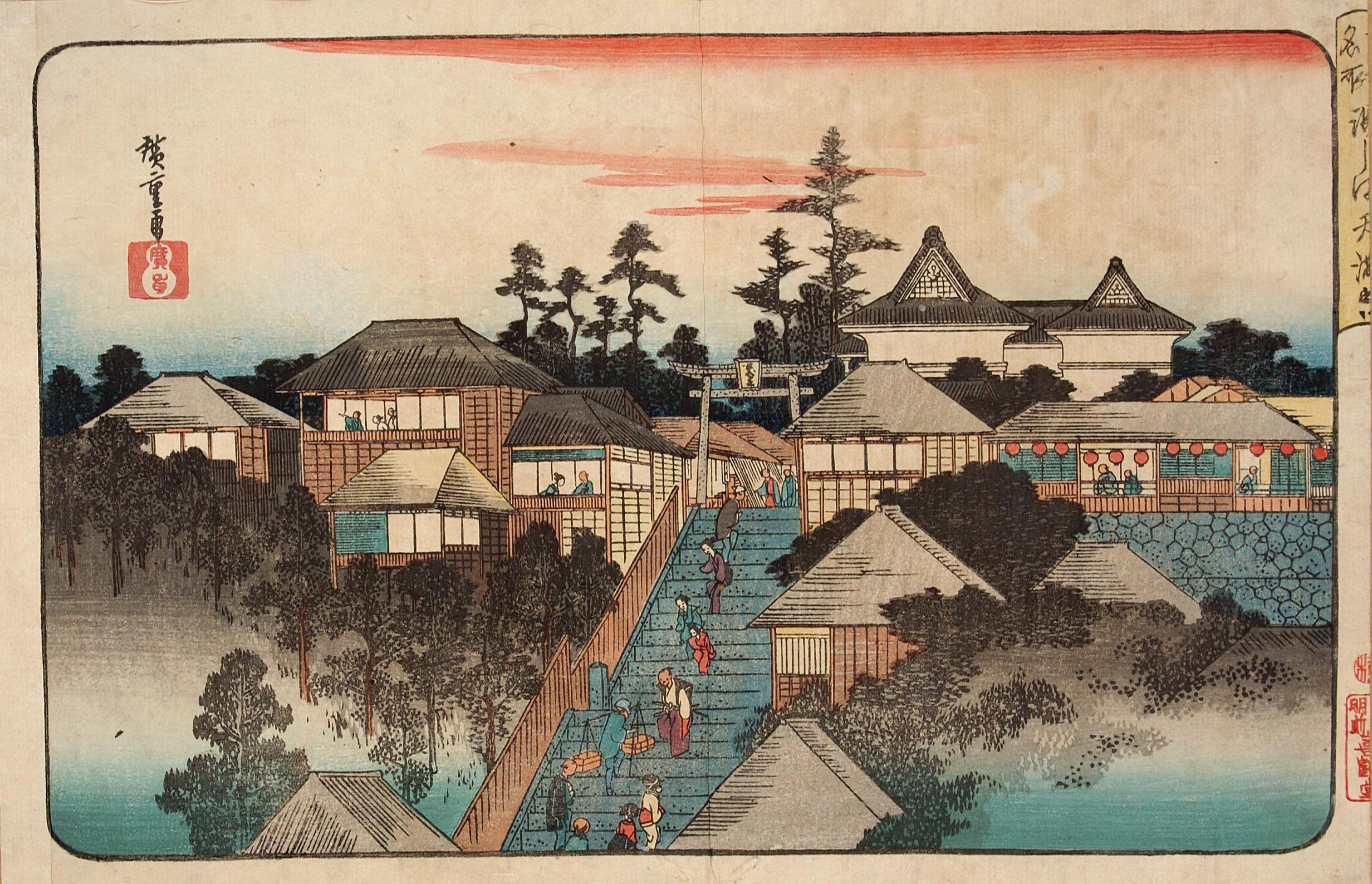 「江戸の三富」の寺社
