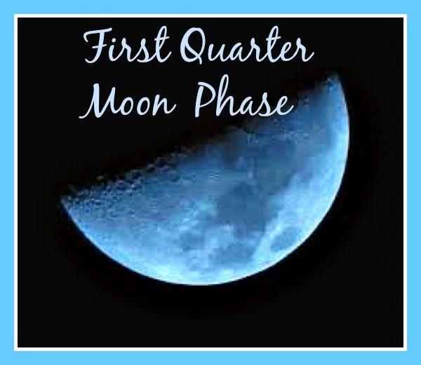 今の上弦の月の状態にとるべき行動とは?