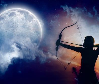 本日いて座の満月とボイドタイム