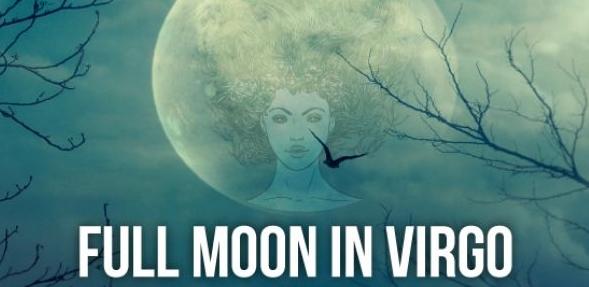 星座別・本日のおとめ座の満月の影響